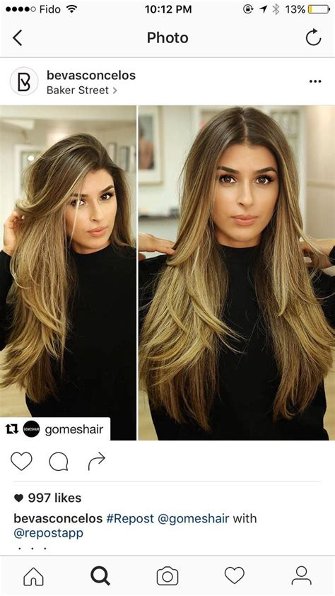 ideas for hair styles when giving birth best 25 hair with layers ideas on pinterest long hair