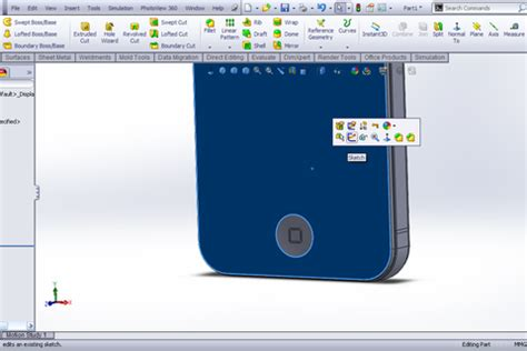 solidworks tutorial iphone tutorial making iphone 4s in solidworks part 1 grabcad