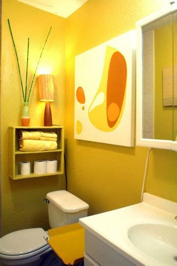 37 yellow bathroom design ideas digsdigs