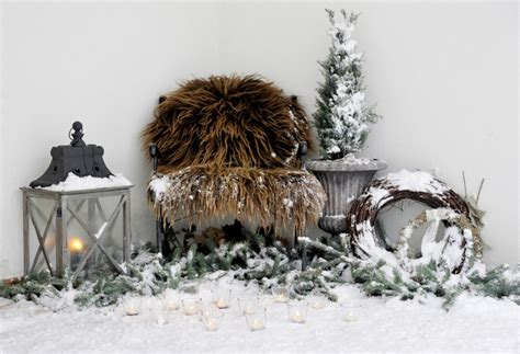 winter snow decorations outdoor decoration ideas 30 simple displays