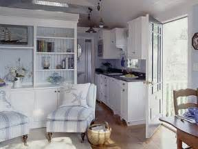 Small Cottage Kitchen Design Ideas The Little White House On The Seaside Simple Plan