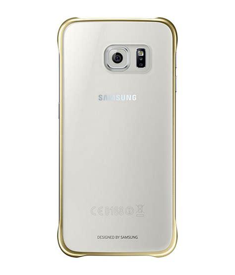 Back Cover Samsung Galaxy samsung protective back cover for samsung galaxy s6 gold