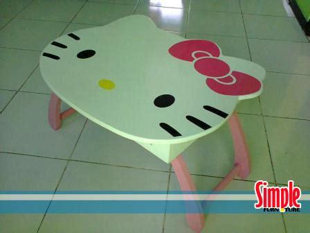 Meja Lipat Hello meja belajar anak kaki lipat laman 2 simple meja