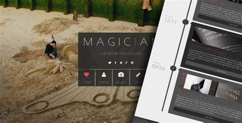 themeforest yamato magician responsive parallax template by ig design
