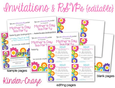 teachers day invitation card templates planning the s day tea