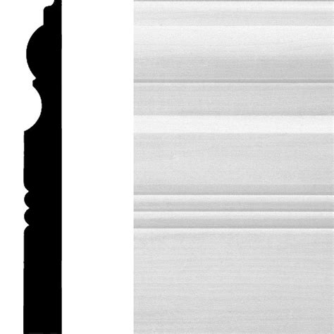 1 in x 6 in x 12 ft actual 06562 in x 55 in x 12 ft tongue and groove pattern house of fara 3 4 in x 6 1 2 in x 8 ft mdf base moulding 8665 the home depot