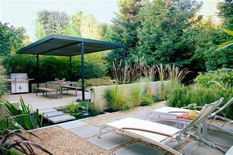 how to create 4 outdoor rooms in a small backyard