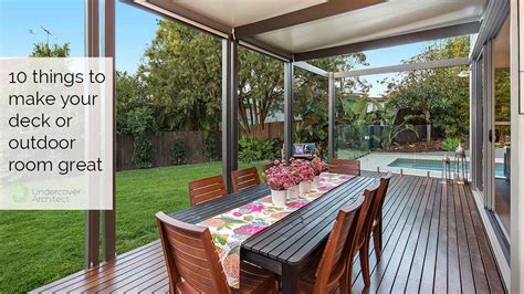 add a outdoor room to home how to design a great deck alfresco or outdoor space for