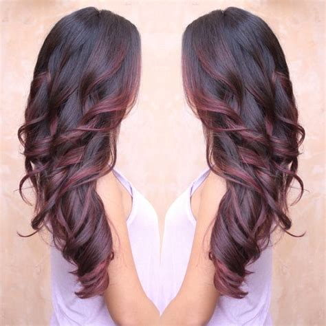 voted best hair dye best 25 burgundy hair highlights ideas on pinterest