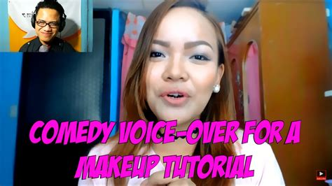 makeup tutorial tagalog filipino comedy voice over of simply jhen s makeup