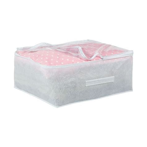 pillow storage frosted underbed single duvet pillow storage cover bag