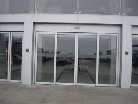 Commercial Sliding Doors by Commercial Automatic Aluminum Sliding Doors