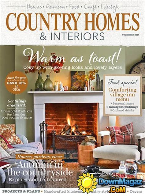 country home design magazines country homes interiors november 2014 187 download pdf