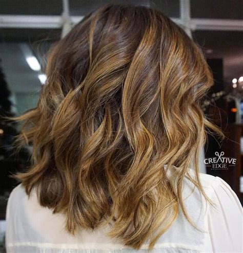honey highlights for dark brown hair on inverted bob 590 best images about my next haircut on pinterest bobs