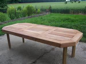 table de jardin d occasion le coin
