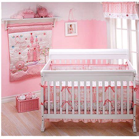disney princess happily after 4 crib bedding
