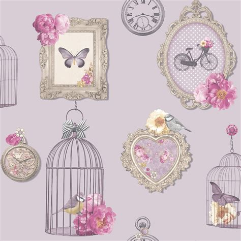 shabby chic wallpaper shabby chic floral wallpaper in various designs wall decor new