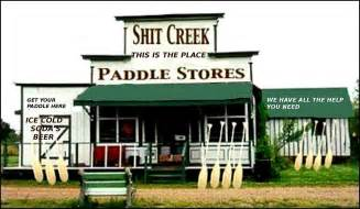 Quot shit creek paddles for sale quot by jaymilo redbubble