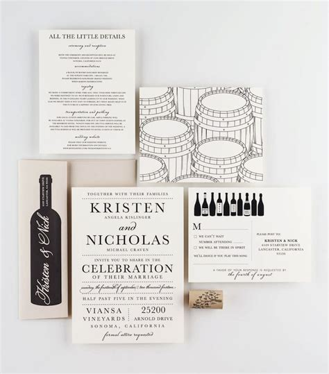 winery themed wedding invitations 168 best invitations images on invitations marriage invitation card and weddings