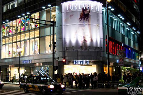 room 21 store forever 21 shinjuku grand opening