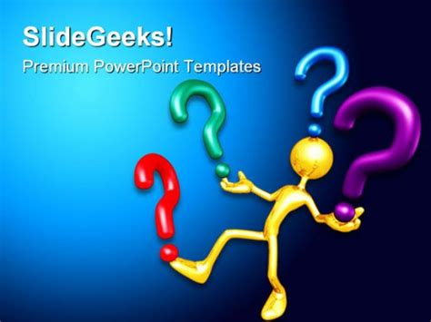 powerpoint templates questions question future powerpoint template 1010