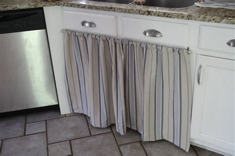 hang curtain kitchen sink decorate the house with