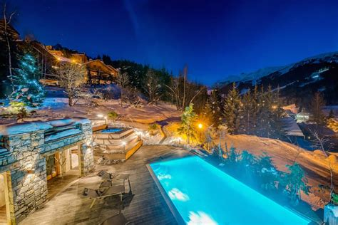 Indoor Pool House by Mont Tremblant M 232 Ribel Best Ski Chalet France 2016