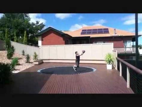dude perfect backyard amazing backyard basketball trick shots dude perfect