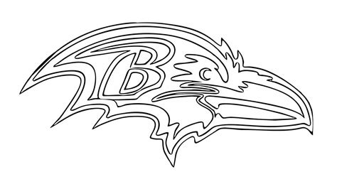 nfl ravens coloring pages baltimore ravens coloring pictures coloring page