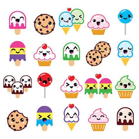 imagenes de emoticones kawaii vectores de kawaii y illustraciones libre de derechos istock