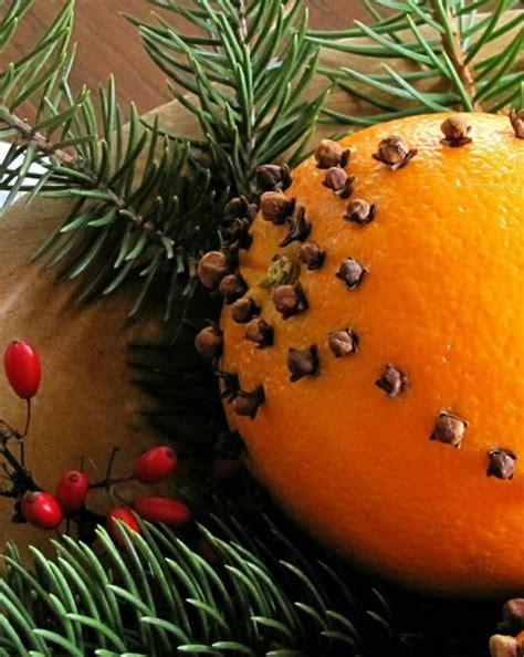 len dekorieren weihnachtsschmuck basteln kreative bastelideen mit orangen