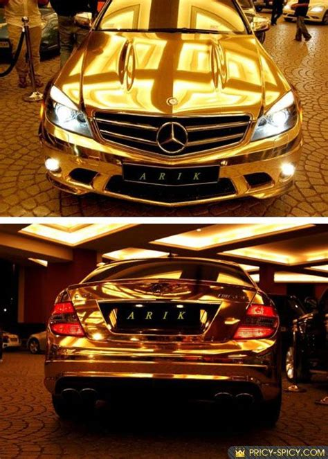 expensive cars gold one of world most expensive car gold mercedes benz autos
