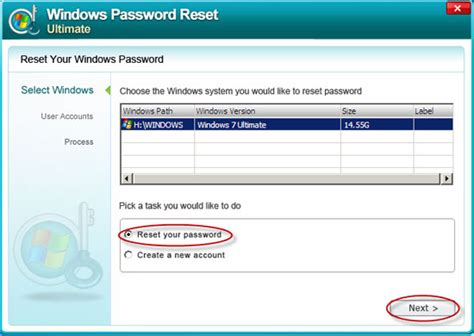 resetting windows vista password free free password reset disk download windows 7