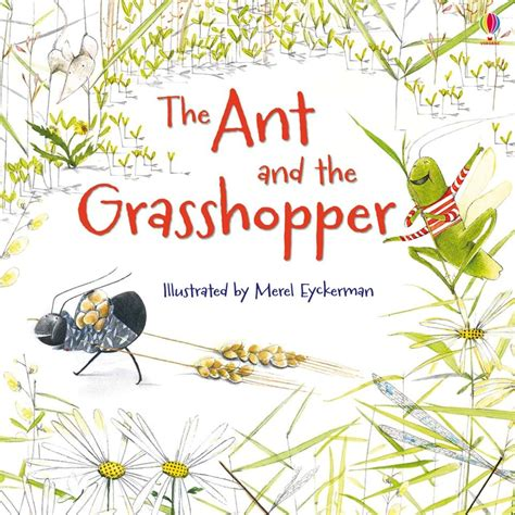 the ant and the grasshopper picture book the ant and the grasshopper at usborne books at home