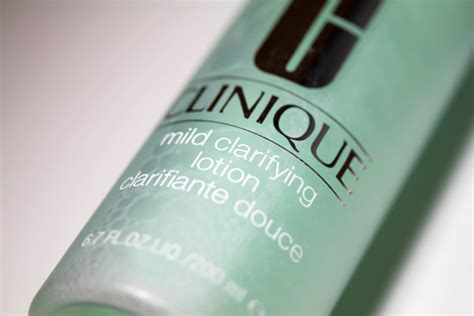 Clinique Mild Clarifying Lotion what s your skin care routine here s what i m doing now