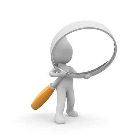free illustration magnifying glass search to find