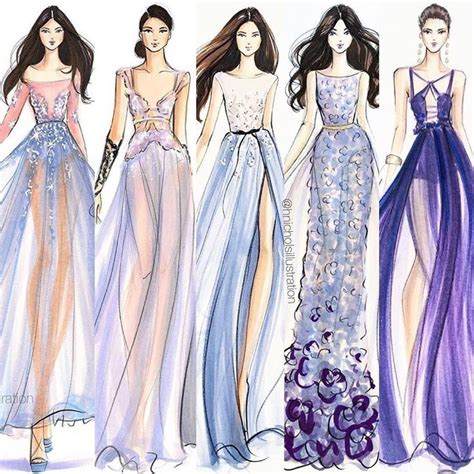 design clothes pinterest fashion drawing ideas best 25 fashion sketches ideas on