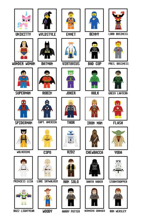 printable heroes catalog lego art prints any one art print lego wall art star