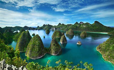 wallpaper alam pedesaan indonesia wallpaper keindahan alam di raja ampat indonesia beserta