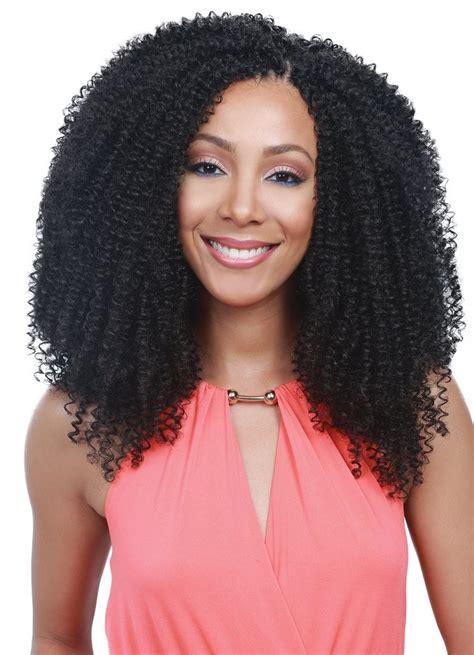 crochet kinky hairstyles bobbi boss african roots crochet braid kinky curl 12 inch