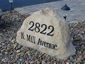 Memorial Bench Plaque Custom Address Stones Knox County Ohio Granite Address