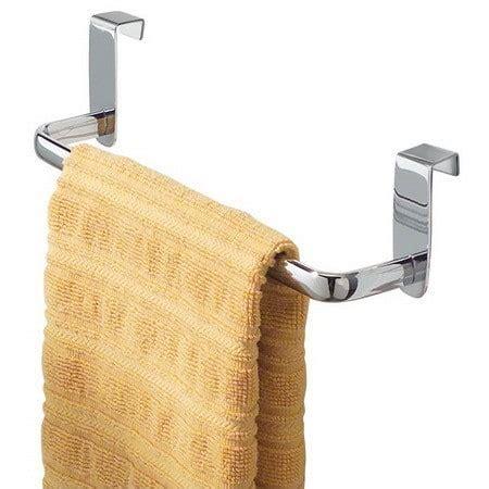 kitchen towel bar under kitchen organization storage ideas 28 organizing