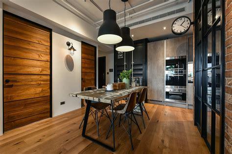 exceptional Modern Victorian Living Room #5: New-Taipei-City-Industrial-Loft-Apartment_2.jpg