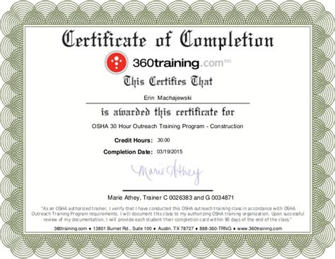 H2s Card Template by Blank Osha Certificates Images