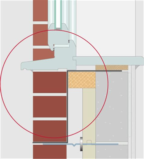 Window Cill Section Partial Fill Cavity Wall Insulation Design