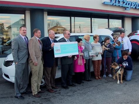 Fitzgerald Toyota Chambersburg Cumberland Valley Animal Shelter Receives Their New