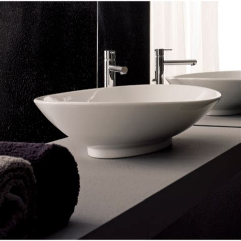 over counter bathroom sink scarabeo 8045 bathroom sink neck nameek s