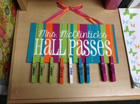Classroom Bathroom Pass Ideas Erin S Pass Sign School Ideas