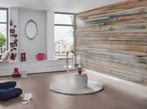 Charmant Mur En Pierre Interieur #8: Papier-peints-imitation-bois-deco-tendance-mur.jpg