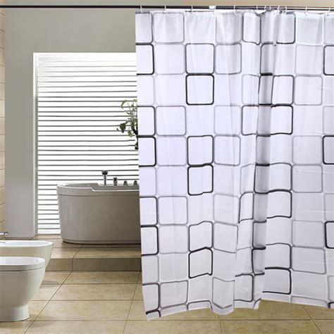 shower curtain longer than 180 cm modern bathroom shower curtains long with hooks 180 x 200